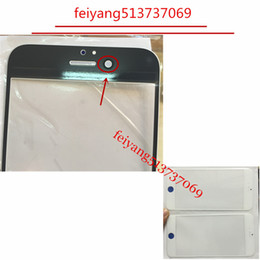 10pcs Original Front Outer Screen Glass Lens Replacement for iPhone 6 6p 6s 7 plus 6SP 7p White black