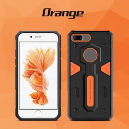 Protection téléphone cellulaire à vendre-Nillkin Defender 2 génération pour iPhone 7 cas 2 en 1 étuis pour téléphone cellulaire anti chute de luxe protection de téléphone portable 60pcs