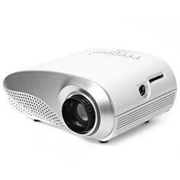 Wholesale H60 LCD Projector Lumens x Native Resolution Aspect Ratio Supports HDMI USB VGA IR SD Card EU Plug