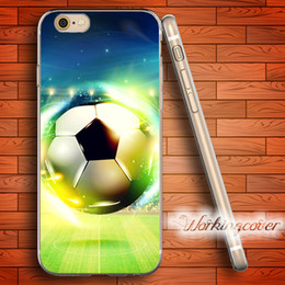 Coque Shiny Football Soft Clear TPU Case for iPhone 6 6S 7 Plus 5S SE 5 5C 4S 4 Case Silicone Cover.
