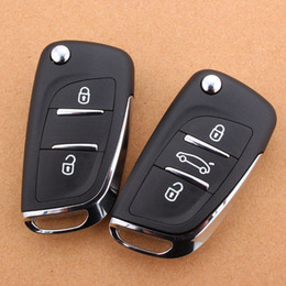 DS new Peugeot 307 mark 308 408 Citroen Sega C4 Triumph C5 car remote control key shell modified Peugeot