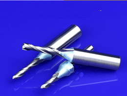 Wholesale Good Quality Shank Spiral TCT Double Edged Milling Cutter CNC Router Bits in