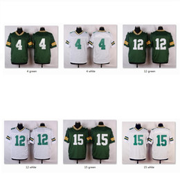 Wholesale Men Elite Jerseys GB Brett Favre Aaron Rodgers Bart Starr Jersey WITH NAME Sports Wear Game Limited Free Drop Ship Mix Order