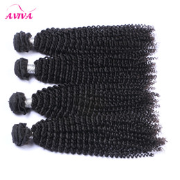 Mongolian Kinky Curly Virgin Hair Weaves Bundles 3Pcs lot Unprocessed Mongolian Curly Hair Wefts Afro Kinky Curly Remy Human Hair Extensions