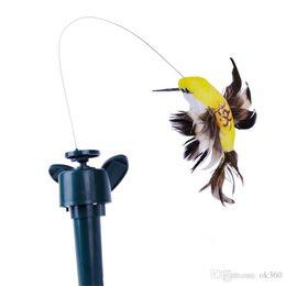 Solar Power hummingbirds Popular Simulation Flying Butterflies Solar Butterfly LED Kids Toys Children Women Gifts Holiday Toy garden decor