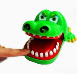 Funny Creative Large Size Crocodile Mouth Dentist Biting Finger Classic Parent-Child Game Tool