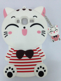 Cute 3D Cartoon Lovely Animal Design Soft Silicone Rubber Back Case Cover for Samsung Galaxy J3 2016