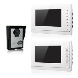 Wholesale villa video door phone door rooms inch screen intercom system and night vision doorbell