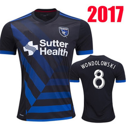 Wholesale Mixed order TOP thai quality MLS San Jose WONDOLOWSKI QUAKES Quakes soccer jerseys Earthquakes Soccer Wear Football shirts