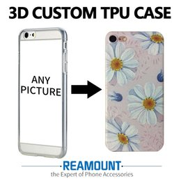 200 pcs  lot Customize 3d Embossing Soft Tpu Case For Apple iPhone 7 Case Back Cover For iPhone 6 6plus 5 5s phone case