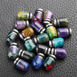 Meilleur rba à vendre-Best 510 Mini Pologne Drip Pointe SS Epoxy Résine Drip Tips Mini Pologne Embouchure pour 510 RDA Atomiseurs RBA E Cigarette DHL Free
