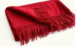 Wholesale Inner Mongolia manufacturer provides straightly at the beginning of pure color lady cut wool scarf lambs wool plain cape autumn winter cloak