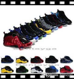 Wholesale 2017 Christmas Air Penny Hardaway Foamposites Galaxy One s Men Basketball Shoes Foamposite Olympic BasketBall Running Sneakers Euro