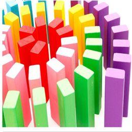 Jeux classiques Jouet en bois coloré de tour de tumble pour l'enfant Enfant Toddler 48 pièces chaud vente populaire l'expédition libre à partir de classique pour les jeux d'enfants fabricateur