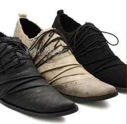 Descuento los hombres hechos a mano de los zapatos oxford Inicio Venta 2016 Hombres zapatos de vestir italianos de cuero Oxford Botas Hombre Hombres Negro Zapatos Palladium zapatos hechos a mano Oxfords más tamaño 46
