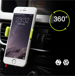 Wholesale Outlet Car phone holder Plastic Apple Car holder rotation Safety anti slip Easy to fix