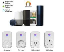 New Smart Plug wifi Power Socket Plug Timer voice control for Andriod IOS Smartphone EU US UK