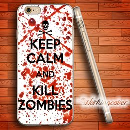 Fundas Kill Zombies Soft Clear TPU Case for iPhone X 8 7 6 6S Plus 5S SE 5 5C 4S 4 Case Silicone Cover.