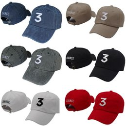 Free shipping Chance 3 the rapper caps Streetwear kanye west dad cap letter Baseball Cap coloring Book 6 panel Yeezus god hats for men women