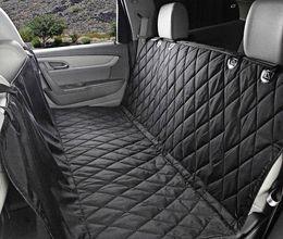 Coche asiento de mascotas cubre impermeable Asiento de banco trasero 600D Oxford interior del coche accesorios de viaje Asiento de coche cubre Mat para mascotas perro desde accesorios de viaje coche proveedores