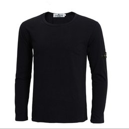 Wholesale Men Stone long Sleeve fleece Island jerseys Size S M L XL XL XL