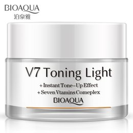 BIOAQUA V7 carry bright color of skin creams block defect containment moisturizing whitening hydrating vitamin sunscreen sunscreen cosmetics