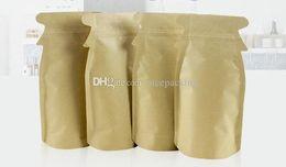 cute penguin kraft paper bag stand up lining aluminium foil for corn coffee tea tea cookie candy 12*23+3cm free shipping mini order 100pcs