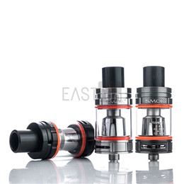 Wholesale 100 Authentic SMOK TFV8 BABY Beast Tank ML e Juice Capacity Cute Baby TFV8 Atomizer Fit T10 T8 V8 Baby T6 X4 Q2 Coil E Cig STOCK IN USA