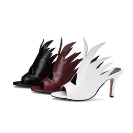 2017 of the latest design fashion lady fish mouth high-heeled sandals, Europe and the United States wind sexy wet shoes High quality, large
