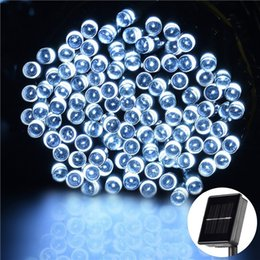 Wholesale BUY GET FREE COLOUR x SOLAR STRING LIGHT WEATHERPROOF AUTO ON OFF XMAS and christmas lights