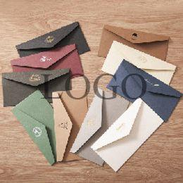Papelería sobre de papel en Línea-Mini estilo lindo del vintage retro del sobre de papel de Kawaii para los efectos de escritorio coreanos 50 de la tarjeta