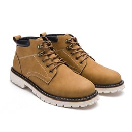 2017 new product shoes men boots hard-wearing lace-up men casual shoes leather high quality Make To Stock-MTS tooling boots3