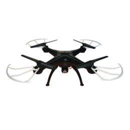 Promotion drones de caméras aériennes Prime! Syma x5sw (Noir / Blanc) 2.4G 4CH 6-Axis WIFI antenne RC Hélicoptère Quadcopter Toys Drone Avec caméra HD avec 5 batterie