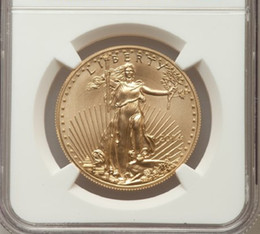 Wholesale Verified American Eagle one troy Ounce fine gold coin graded MS70 and sealed in original case