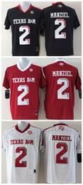 Promotion johnny maillots manziel 2016 New Youth Texas AM Aggies # 2 Johnny Manziel Maillot d'enfants pour enfants