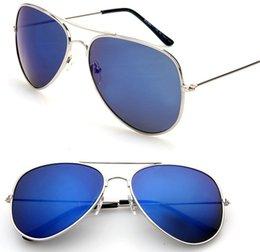 Lente de espejo en Línea-Gafas de sol unisex del diseñador de moda Gafas de sol clásicas Retro espejo aviador gafas de sol reflexivo Gafas de sol al aire libre rana de la rana