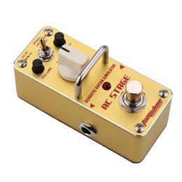 Wholesale New Arrival AROMA AAS AC Stage Simulator Mini Single Electric Guitar Effect Pedal with True Bypass Guitarra Effect Pedal