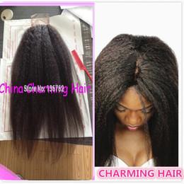 Kinky Lace Closure Bleached Knots Virgin Hair 4x4 Kinky Straight Closure Human Hair Itallian Yaki lace closure baby hair