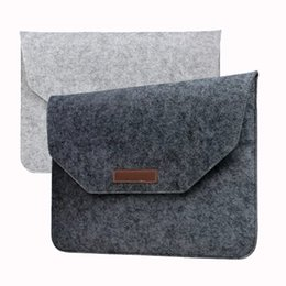 Wholesale Laptop Bag Macbook inch Air Retina Felt Bag Cover Sleeve Briefcase For Notebook Mac Pro Acer Asus Dell Lenovo HP opp bag