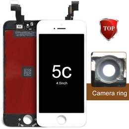 Wholesale For iPhone S g c LCD Test One By One Via DHL camera ring ear mesh sensor ring
