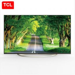 2017 tv lcd led 55 TCL 55 pouces 4K Ultra HD, gamme de couleur haute couleur, iQIYI micro-canal Internet, 3D Smart LED 4K Ultra HD LCD TV abordable tv lcd led 55
