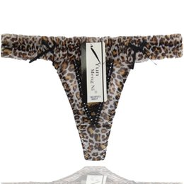 Fashion Ladies Sexy G-strings Leopard Printing Colorful Side G Strings girls thong mature women lingerie lady g-string underwear