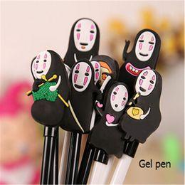 Wholesale Cute host Gel Pens For Writting Japan Spirited Away kawaii Pen Gift Stationery Office School Writing Supplies