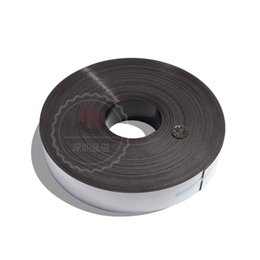Wholesale Meters Flexible Advertising Teaching Magnetic Strip Rubber Magnet Width x1mm with Double sided adhesive