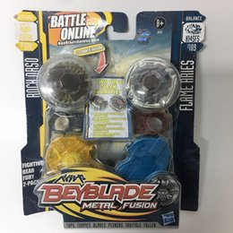 Wholesale HASBRO Beyblade METAL FUSION ROCH ORSO DEFENSE D125B BB51A VS FLAME ARIES BALANCE H145FS B109 FIGHTING BEAR FURY PACK