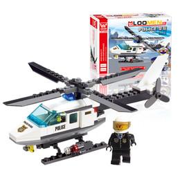 Wholesale Aircraft Airplane Model Building Blocks Plane Aeroplane DIY Educational Toys Kids Gifts J306