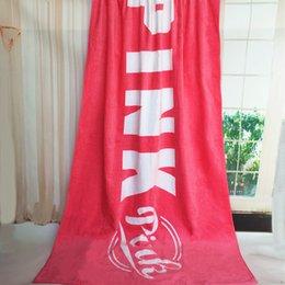 Размеры одеяло для продажи-1pc VS love PINK пляжное полотенце 4colors одеяло плавание спортивный большой размер тела одеяла ВАРИАНТ 180 * 105cm в наличии