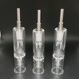 Wholesale best price Nectar nail Collector Kit include gr2 titanium nail mm Glass dish oil ashtry smoking glass pipe bong