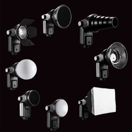 2017 snoot flash Wholesale-SETTO 9 in1 Accessoires Flash Barndoor Snoot softbox Honeycomb Beauty disque / Diffuseur pour Speedlite Flash Lightlight snoot flash à vendre