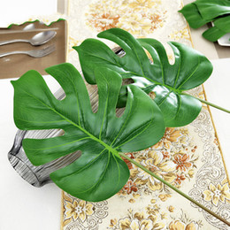 Plastic leaves Artificial plants Turtle bamboo Simulation flower Fake flowers Simulation of plant wall leaves